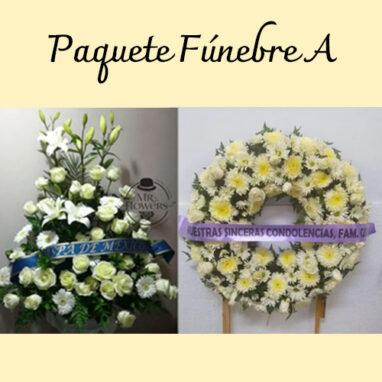 Paquete Funebre | Paquete Floral Fúnebre