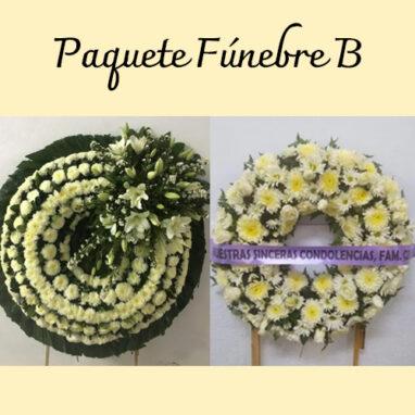 Paquete Fúnebre | Flores para Funeral