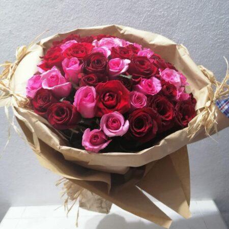 Ramo de 50 rosas Mixtas