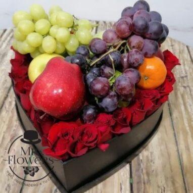 Corazón Frutal Floral