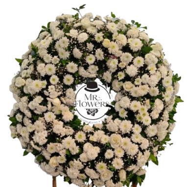 Corona Tradicional Elegante Blanca