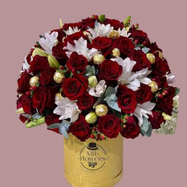 Caja de Rosas Deluxe