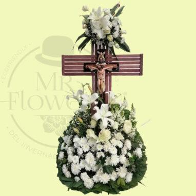 Cristo con Flores Fúnebre
